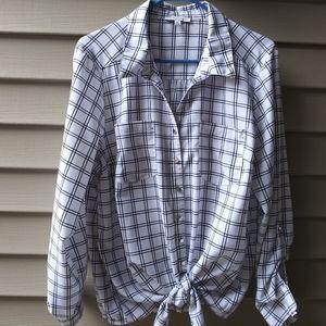 EUC Notations XL lightweight blouse.